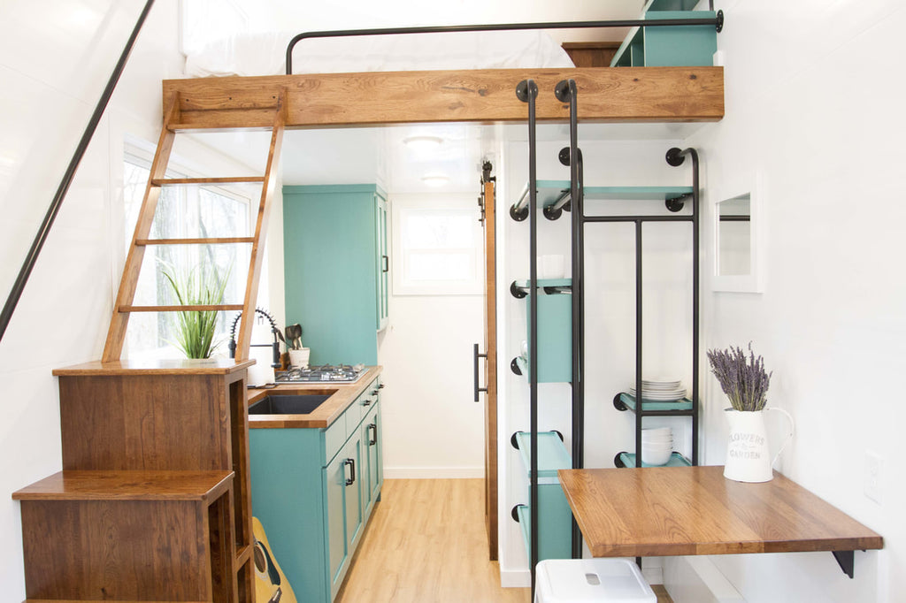 "20' ""Nash"" Tiny House on Wheels by Modern Tiny Living"
