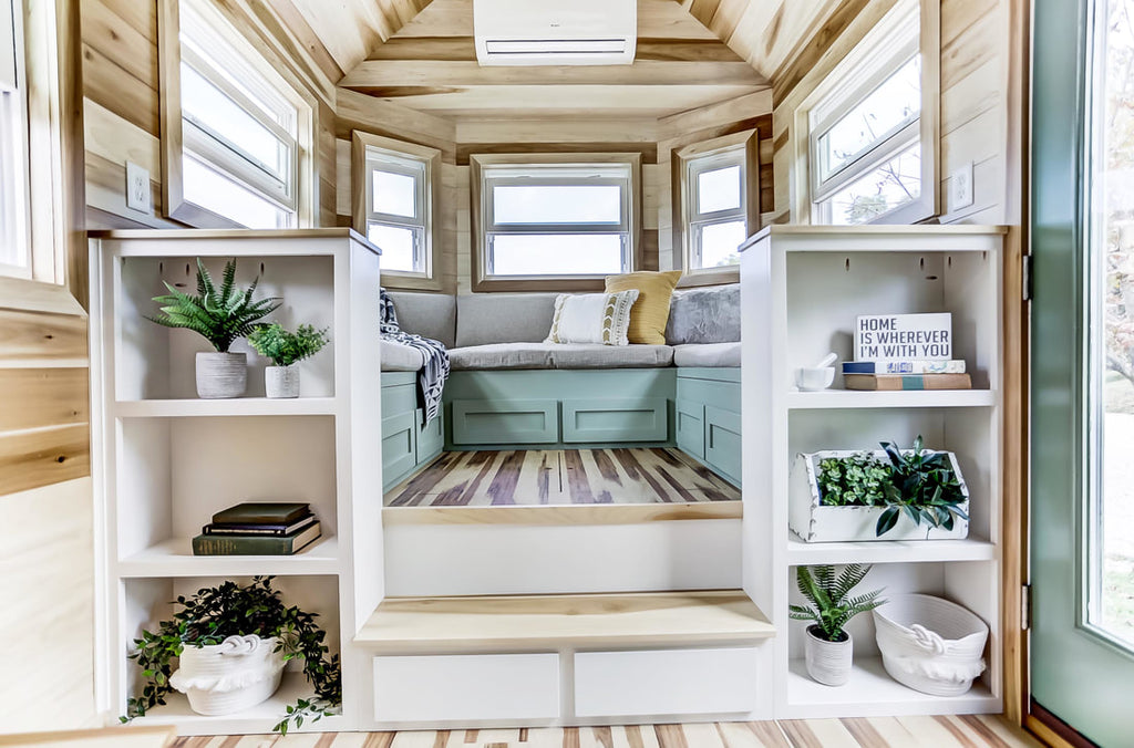 "20' ""Point"" Tiny House on Wheels by Modern Tiny Living"