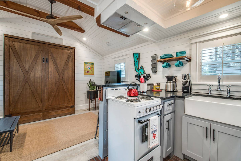 "The ""Love Shack"" Tiny House for rent on Airbnb in Dallas, Texas"