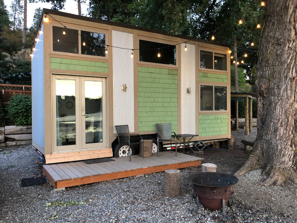 Water's Edge Tiny Home on Wheels for rent on Airbnb in Newman Lake, WA