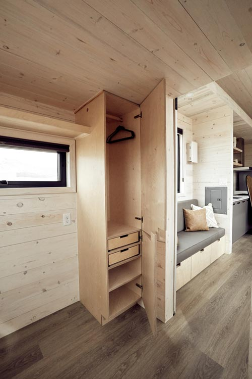 "30' ""Drake"" Debut Tiny House on Wheels by Colorado-based Land Ark"