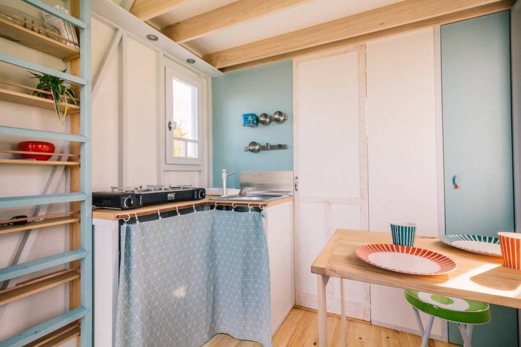 71 sqft Cahute Tiny House on Wheels in France