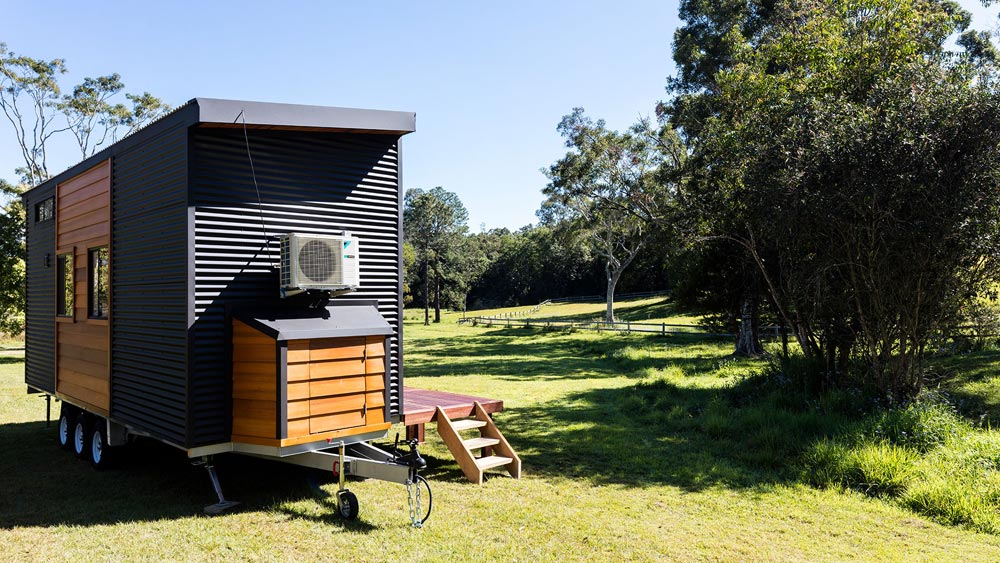 "7.2m ""Cooge 7.2"" Tiny Home on Wheels by Aussie Tiny Houses"
