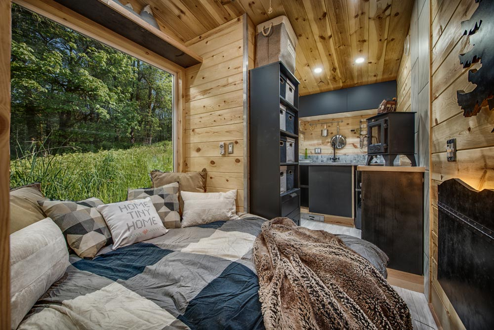 "90-sqft ""Acorn"" Tiny House on Wheels by Backcountry Tiny Homes"