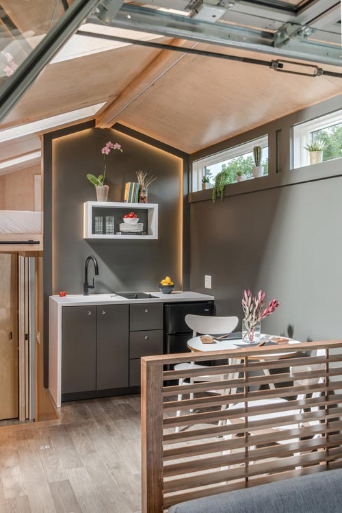 """Orchid"" Tiny House on Wheels by New Frontier Tiny Homes"