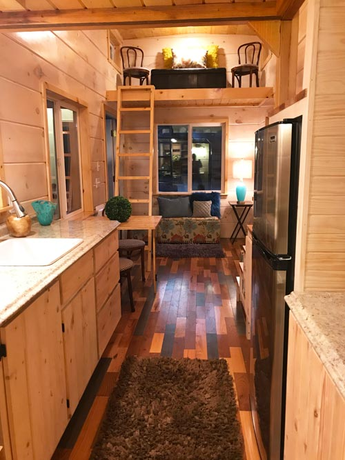 "The ""California Red""—A 26' Tiny House on Wheels by Incredible Tiny Homes"