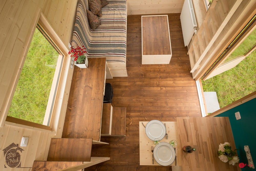 "20' ""Cécile"" Tiny House on Wheels by French-based Optinid"