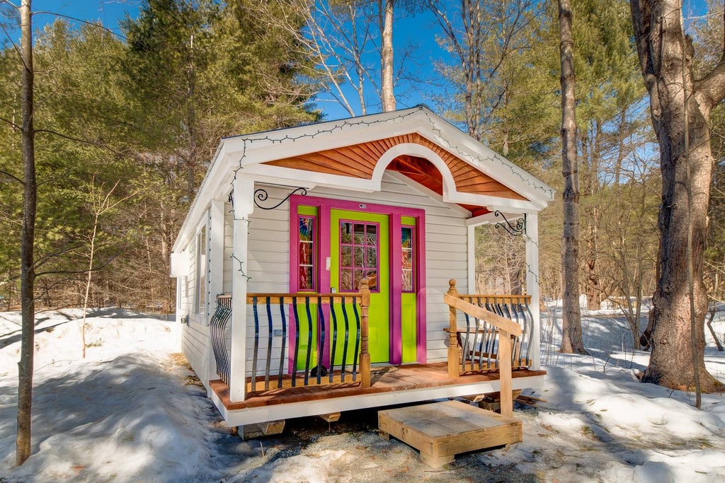 Apple Blossom Cottage in Jamaica, Vermont - Tiny Houses for rent on Airbnb