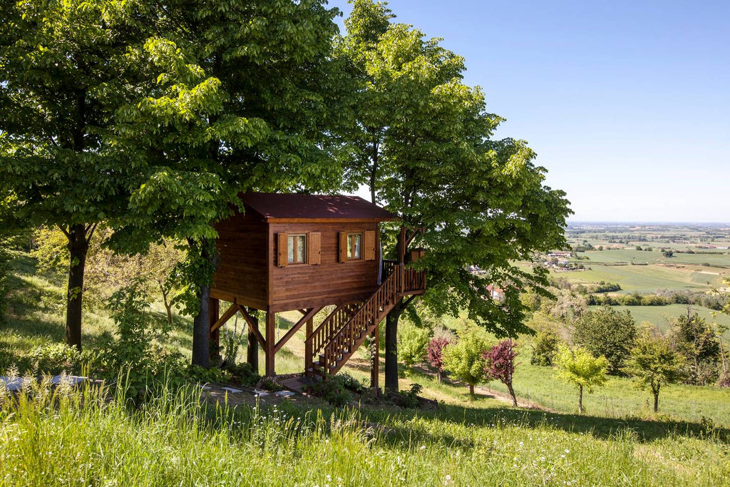 Aroma(n)tico Treehouse in Monferrato, Italy - Tiny Houses for rent on Airbnb