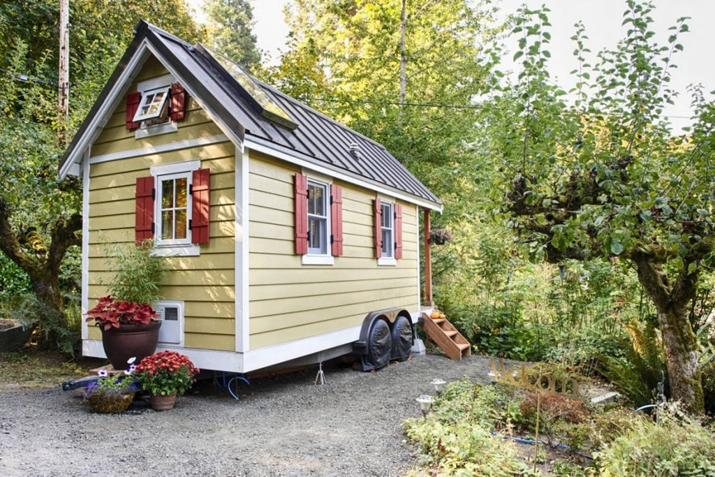 Bright & Cozy Tiny House on the Bay in Olympia, WA - Tiny Houses for Rent on Airbnb