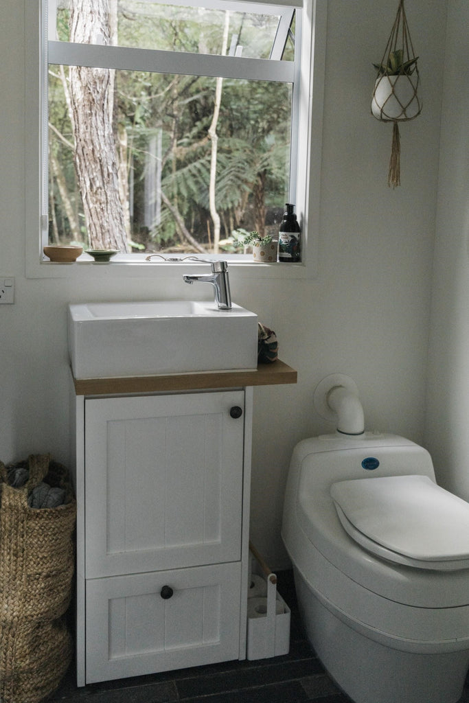 Building Tiny Auckland Composting Toilet