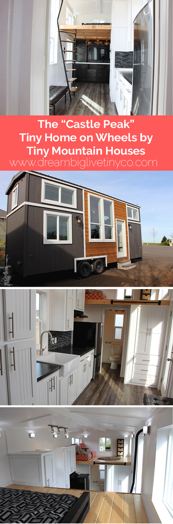 "The ""Castle Peak"" Tiny Home on Wheels by Tiny Mountain Houses"