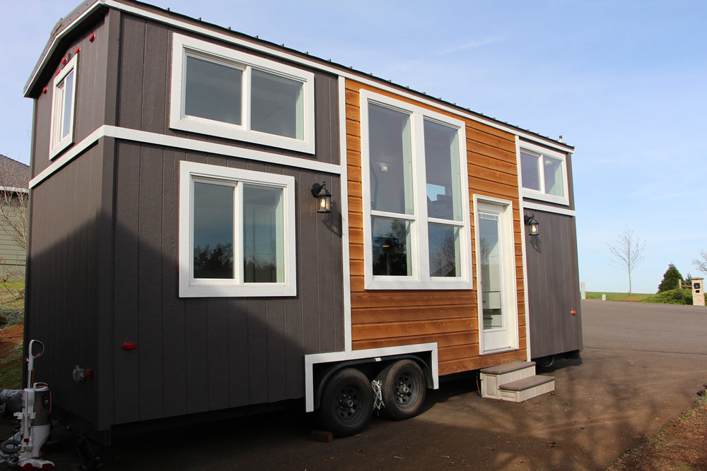 Castle Peak Tiny Home on Wheels by Tiny Mountain Houses - Exterior
