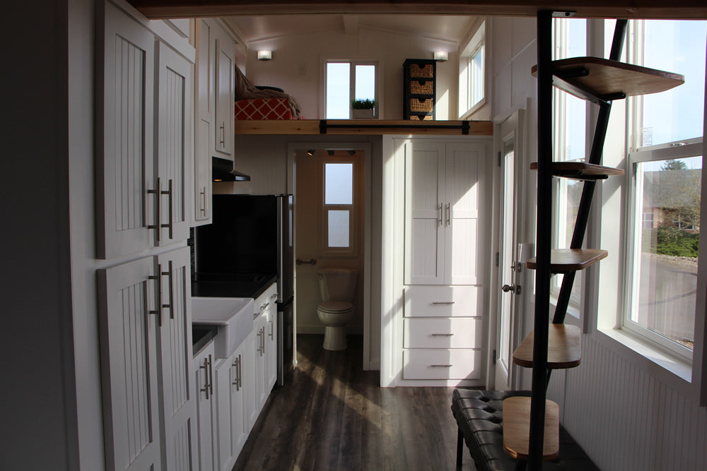 Castle Peak Tiny Home on Wheels by Tiny Mountain Houses - Interior