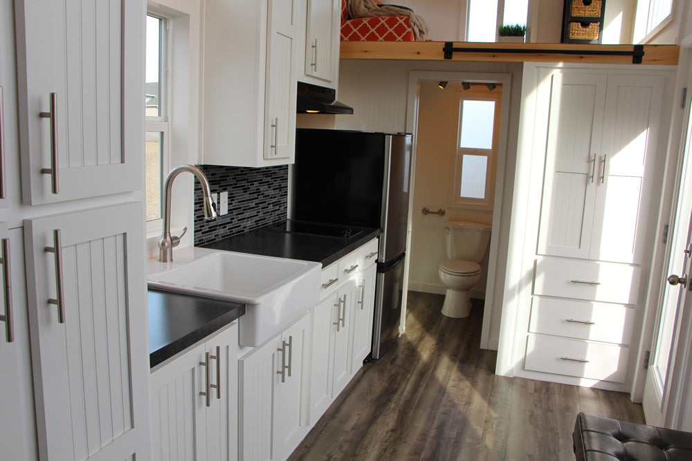 Castle Peak Tiny Home on Wheels by Tiny Mountain Houses - Kitchen
