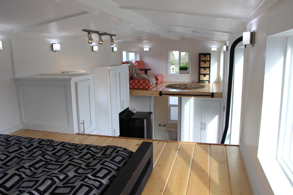 Castle Peak Tiny Home on Wheels by Tiny Mountain Houses - Loft