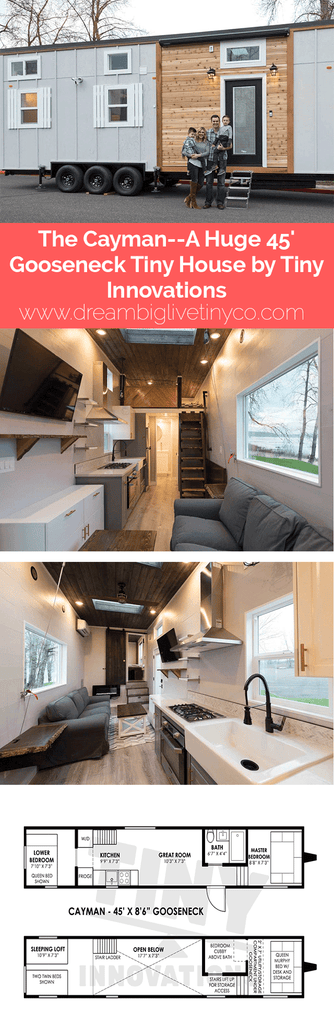 "The ""Cayman""—A Huge 45' Gooseneck Tiny House by Tiny Innovations"