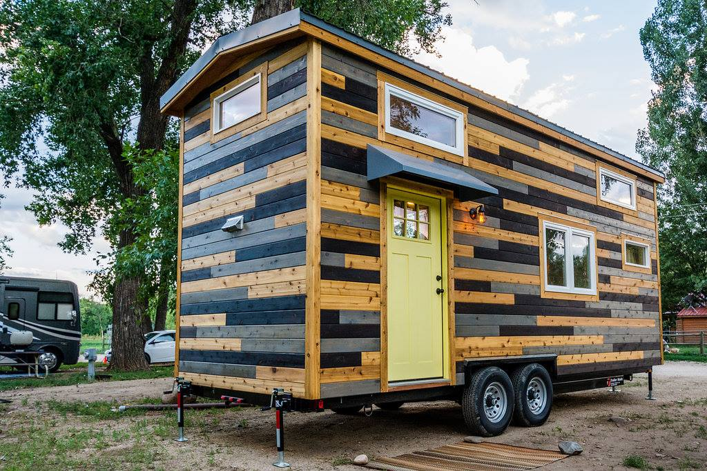 24' Custom Tiny House on Wheels by Mitchcraft Tiny Homes- Exterior