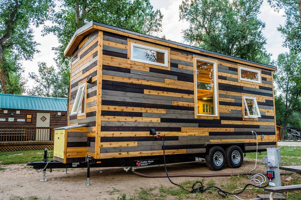 24u0027 Custom Tiny House On Wheels By Mitchcraft Tiny Homes  Exterior