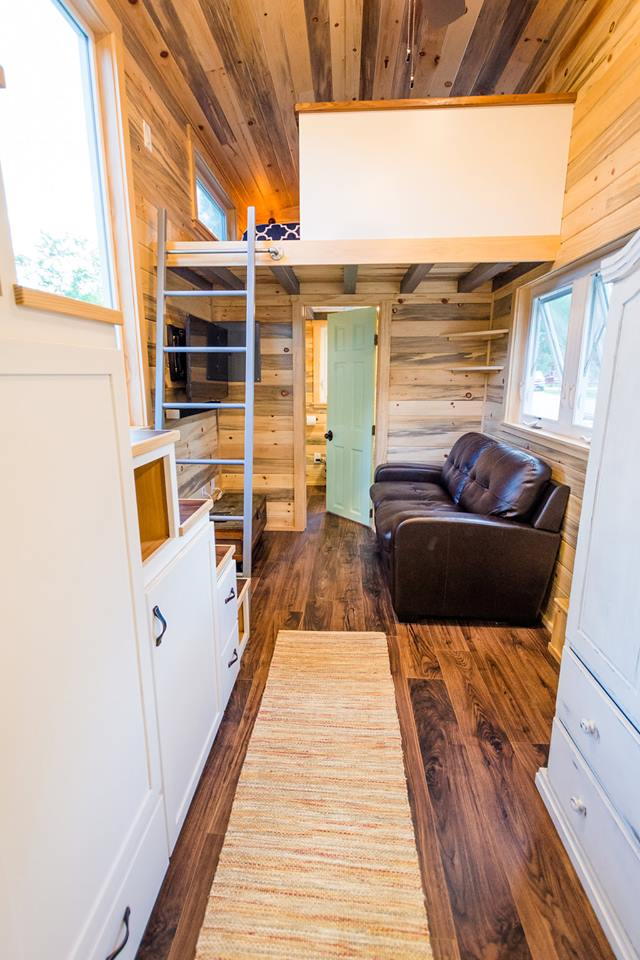 24' Custom Tiny House on Wheels by Mitchcraft Tiny Homes- Interior