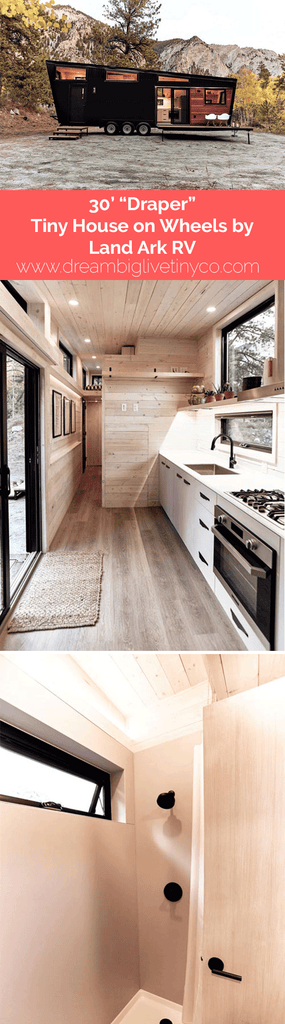 "30' ""Draper"" Tiny House on Wheels by Land Ark RV"