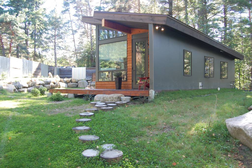 Eco Tiny House on Lake Placid in New York - Tiny Houses for rent on Airbnb