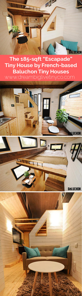 "The 185-sqft ""Escapade"" Tiny House by French-based Tiny House Baluchon"