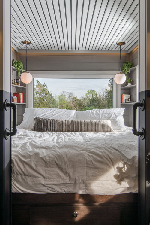 Escher Tiny House on Wheels by New Frontier Tiny Homes - Bedroom