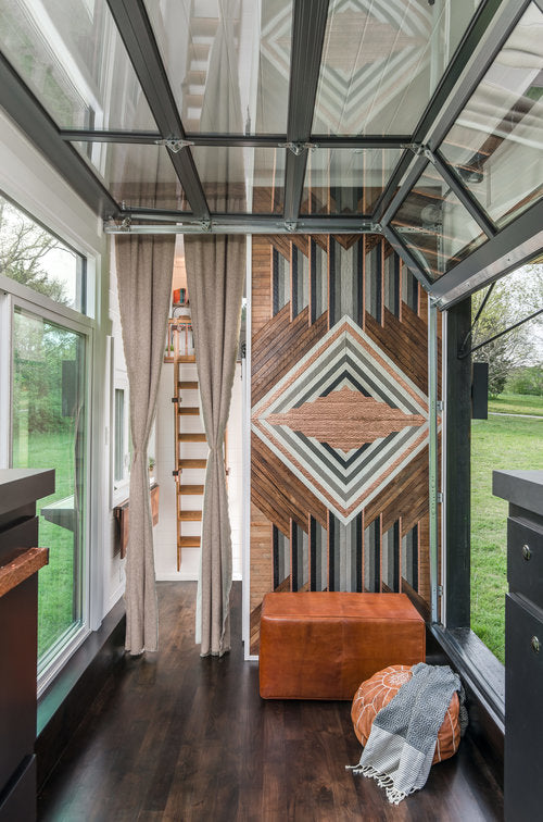 Escher Tiny House on Wheels by New Frontier Tiny Homes - Interior