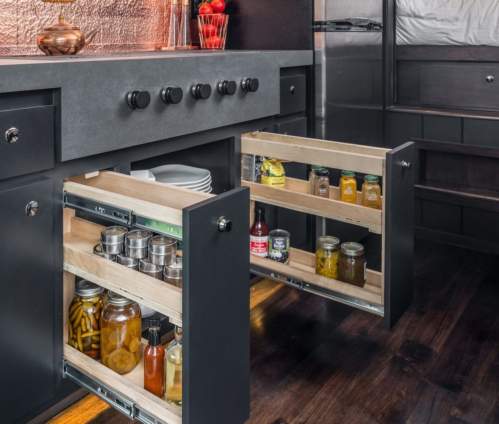 Escher Tiny House on Wheels by New Frontier Tiny Homes - Kitchen