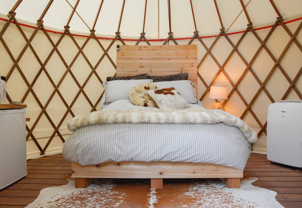 The Urban Yurt Austin Glamping Experience in Austin, Texas - Tiny Houses for rent on Airbnb