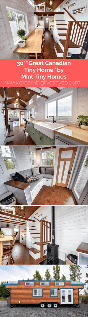 "30' ""Great Canadian Tiny Home"" by Mint Tiny homes"