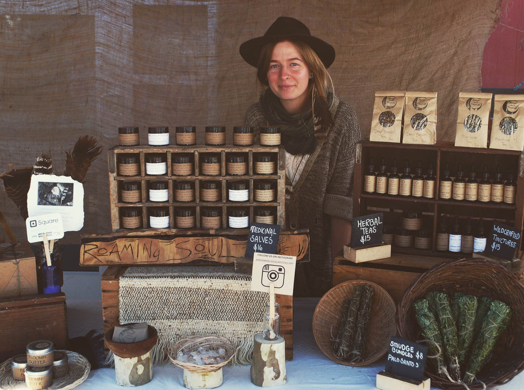 Dani Gallagher of Roaming Soul Apothecary 1