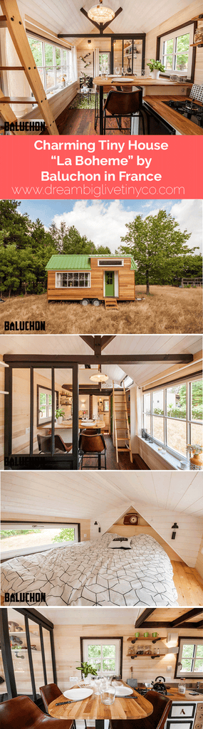 "Charming Tiny House ""La Bohème"" by Baluchon in France"
