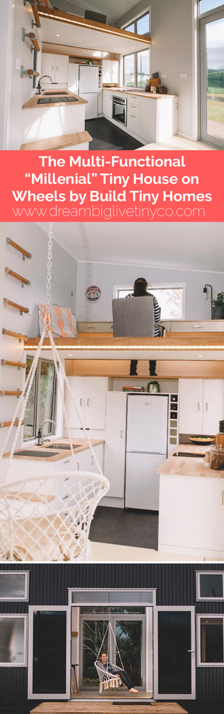 "The Multi-Functional ""Millennial"" Tiny House on Wheels by Build Tiny Homes"