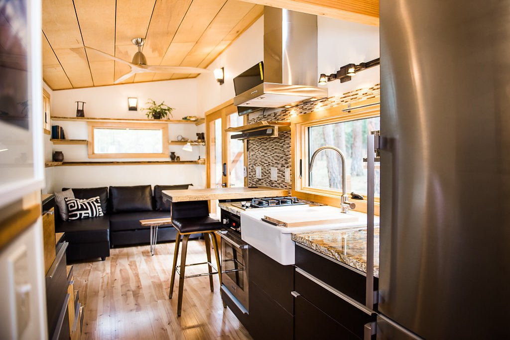 Wood Iron Tiny Homes - North Sister Kitchen