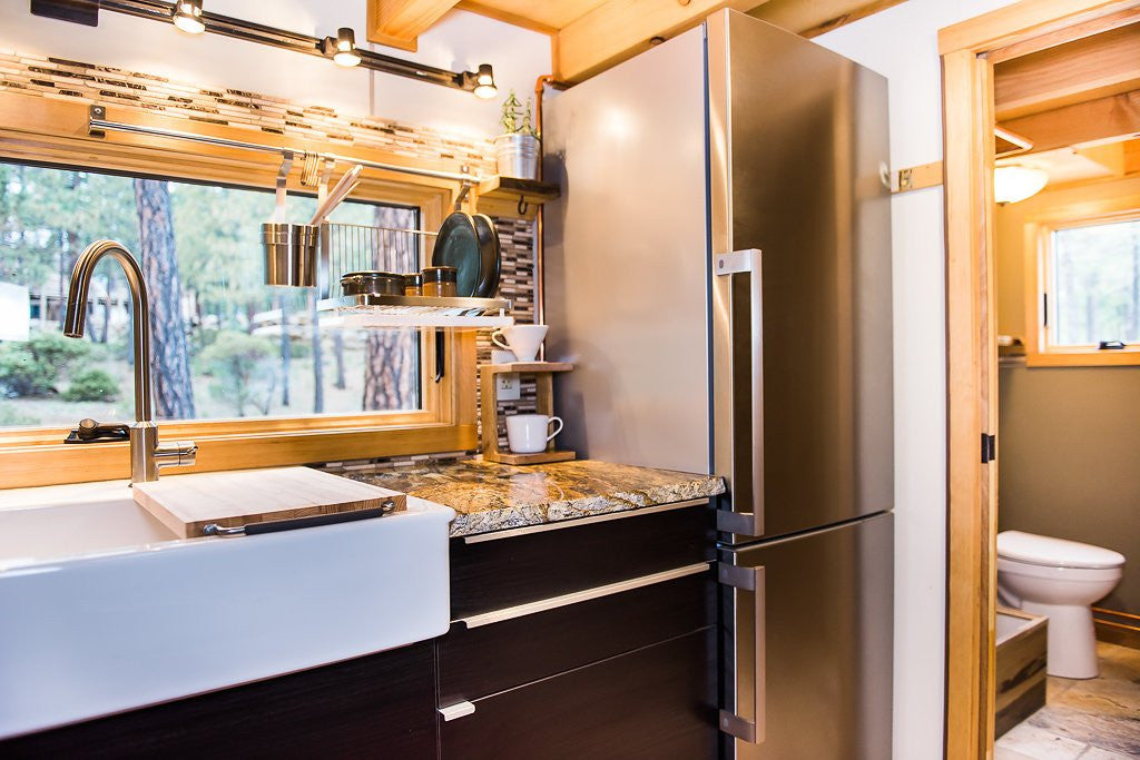 Wood Iron Tiny Homes - North Sister Kitchen 2
