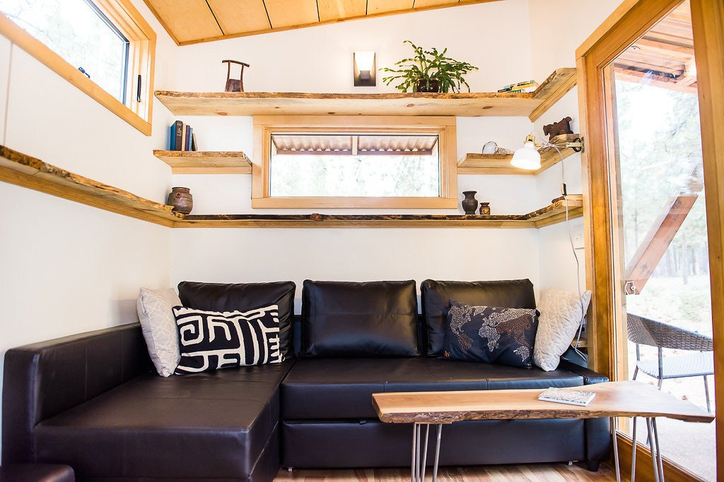 Wood Iron Tiny Homes - North Sister Living Room