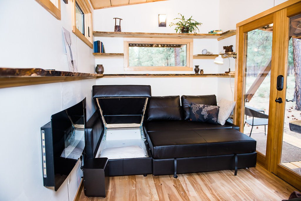 Wood Iron Tiny Homes - North Sister Living Room 2