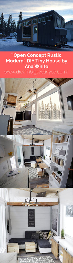 "20' ""Wanderlust"" Tiny House Based on Tumbleweed's Linden Model"