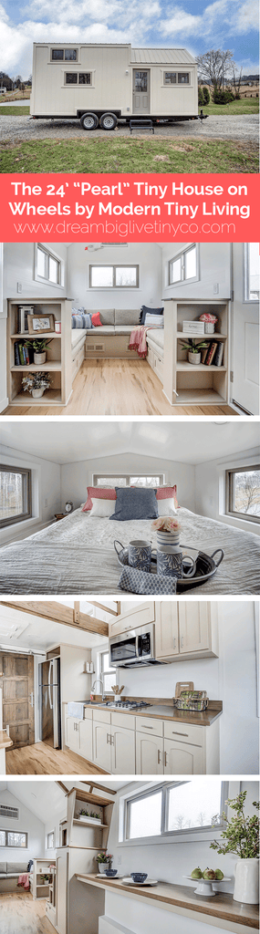 "The 24' ""Pearl"" Tiny House on Wheels by Modern Tiny Living"