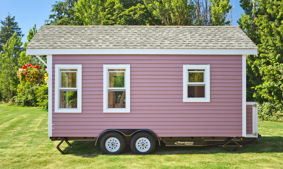 Pink Poco Edition Tiny House on Wheels by Mint Tiny Homes - Exterior