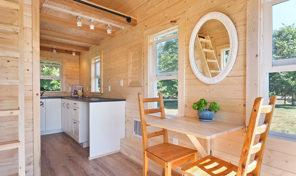 Poco Edition Tiny House on Wheels by Mint Tiny Homes - Interior