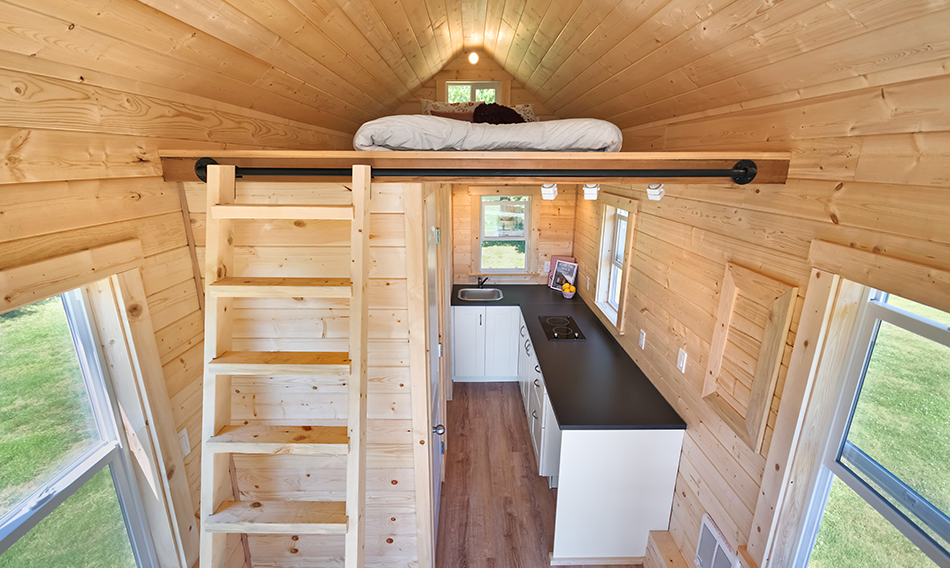 Poco Edition Tiny House on Wheels by Mint Tiny Homes - Loft