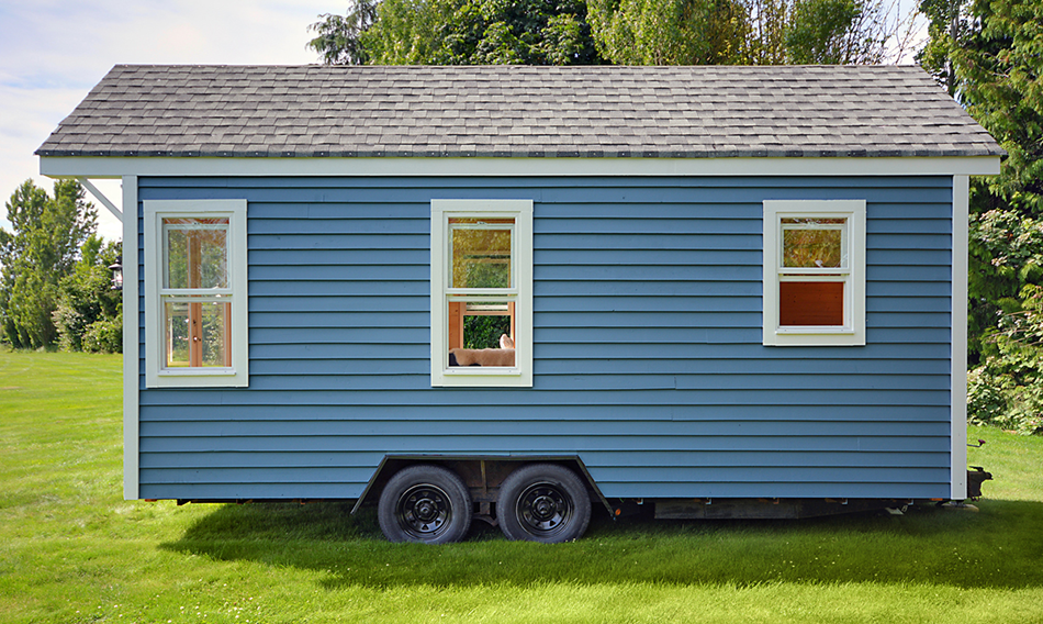 Poco Edition Tiny House on Wheels by Mint Tiny Homes - Exterior