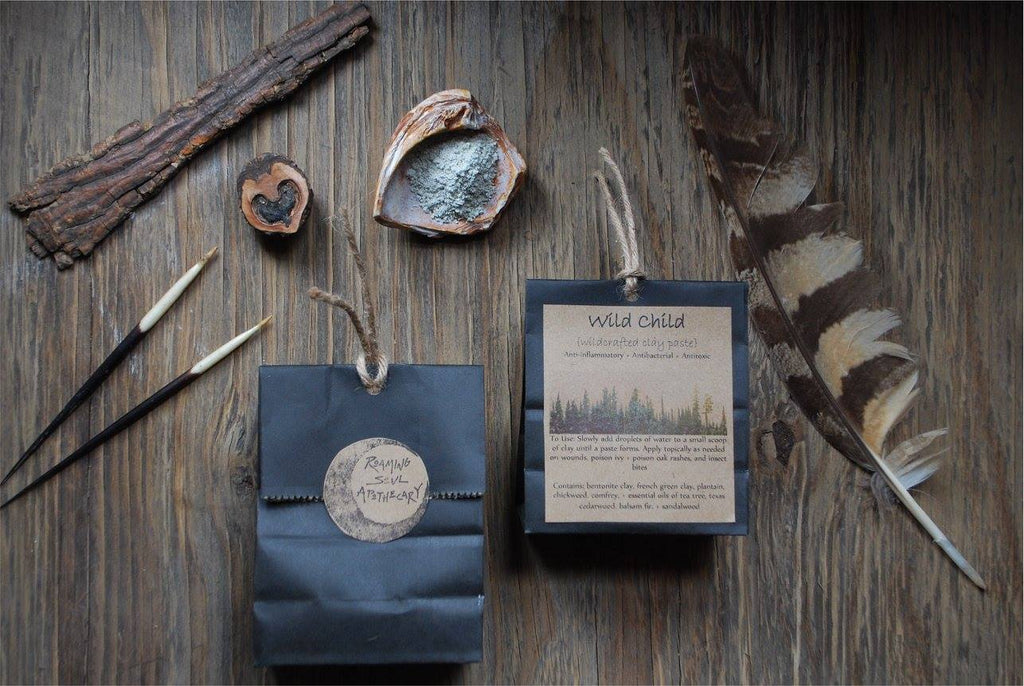 Dani Gallagher's products from Roaming Soul Apothecary