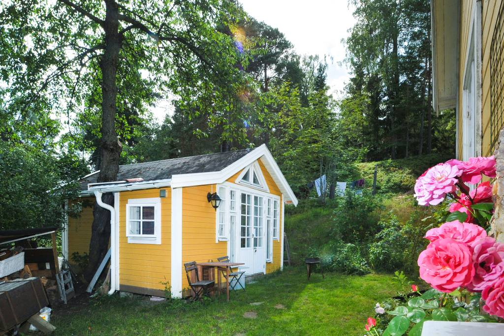 Stockholm Writer's Cabin in Lidingo, Sweden - Tiny Houses for Rent on Airbnb
