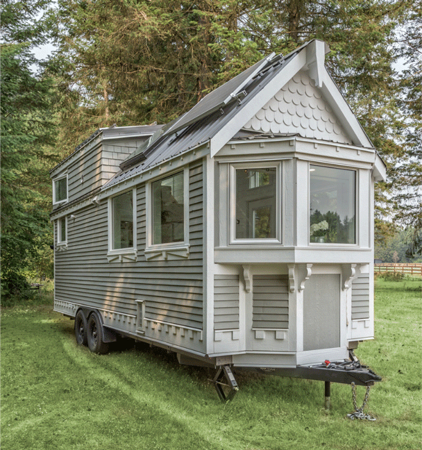 The Heritage Tiny House on Wheels by Summit Tiny Homes - Exterior