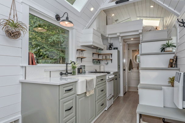 The Heritage Tiny House on Wheels by Summit Tiny Homes - Interior