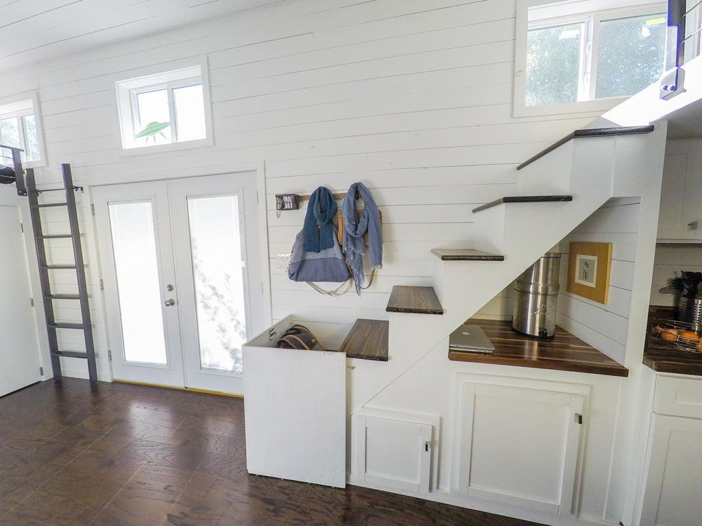 Tiny House Family - Child Gate for Stairs and French Doors